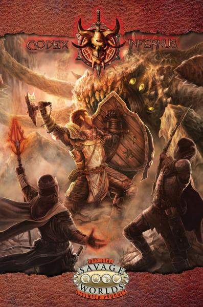 Savage Worlds RPG: (Codex Infernus) The Savage Guide To Hell (SC)