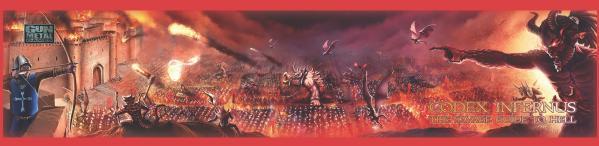 Savage Worlds RPG: (Codex Infernus) GM Screen