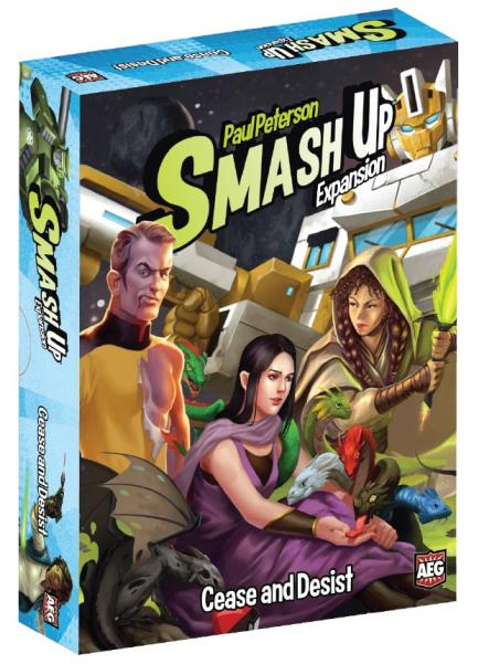 Smash Up: Cease & Desist (Expansion)