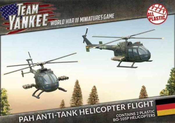 Flames Of War (Team Yankee): (German) BO-105P Anti-tank Helicopter Flight