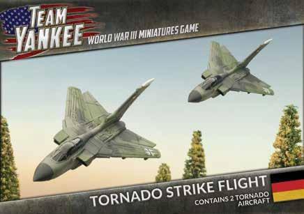 Flames Of War (Team Yankee): (German) Tornado Strike Flight