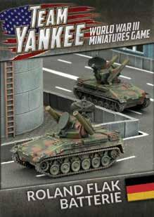 Flames Of War (Team Yankee): (German) Roland Flarakpanzer Batterie