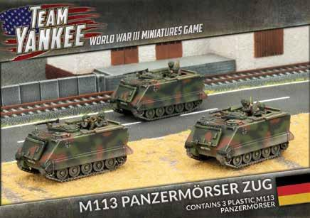 Flames Of War (Team Yankee): (German) M113 Panzermorser Zug