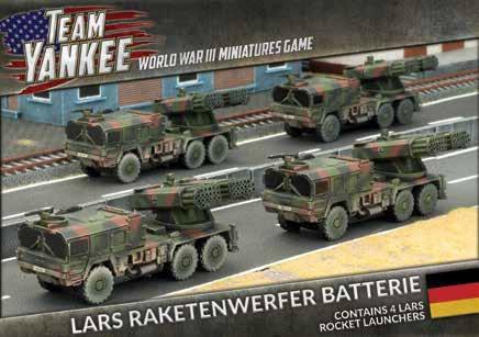 Flames Of War (Team Yankee): (German) Raketenwerfer Batterie