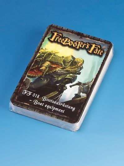 Freebooter's Fate: Boat Equipment Card Deck