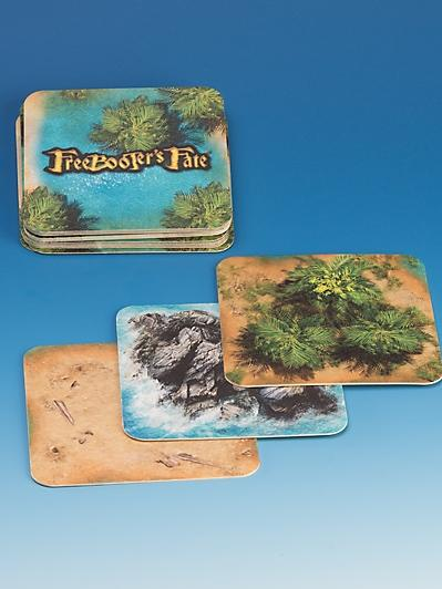 Freebooter's Fate: (Accessories) Island Cards