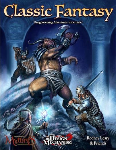 Mythras RPG: Classic Fantasy