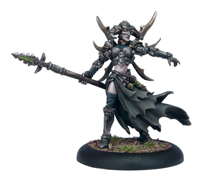 (Cryx) Warwitch Deneghra (metal resculpt)