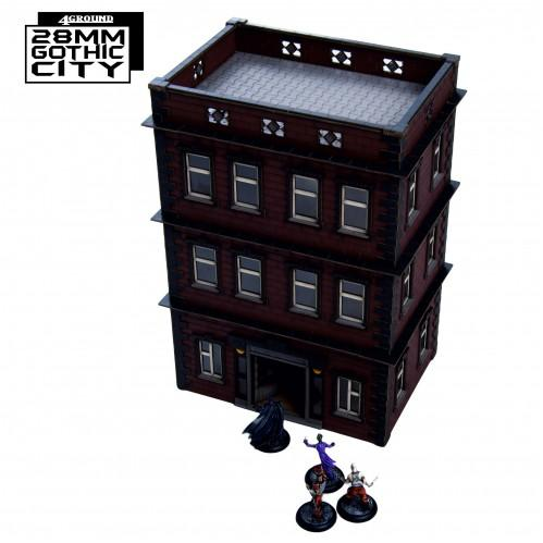 28mm Gothic City: North Point Tenament 2