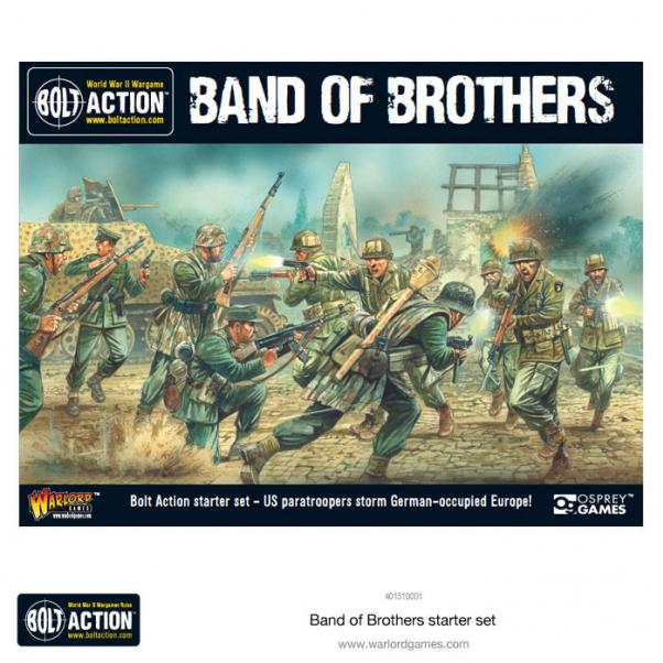 Bolt Action, 2nd Edition: Band Of Brothers Starter Box Set