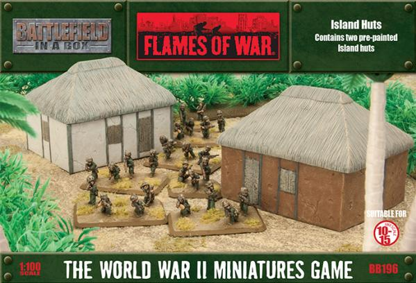 Battlefield In A Box: Flames Of War (WWII) - Island Huts