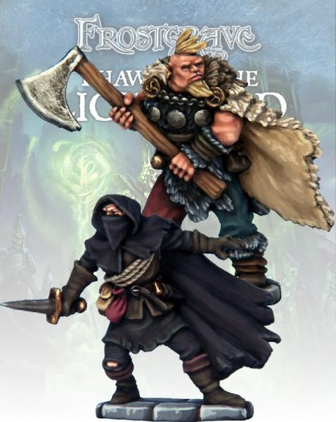 Frostgrave: Cult Thief & Barbarian