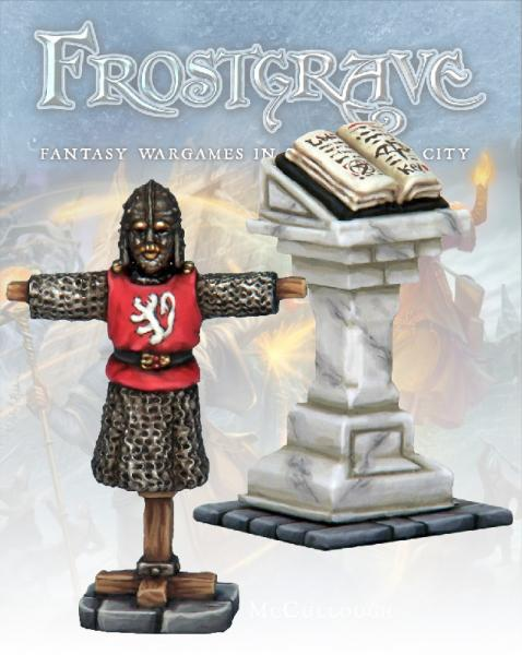 Frostgrave: Armour Rack & Lectern