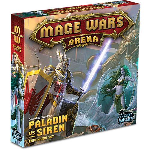 Mage Wars Arena: Paladin vs Siren Expansion