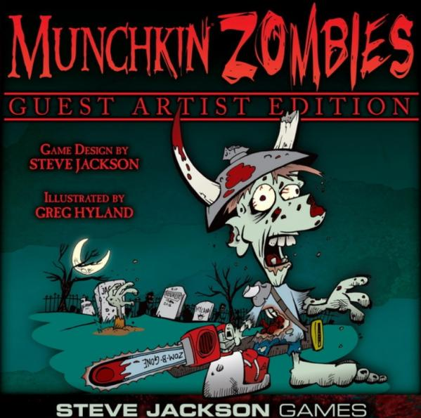Munchkin Zombies: Greg Hyland Guest Artist Edition