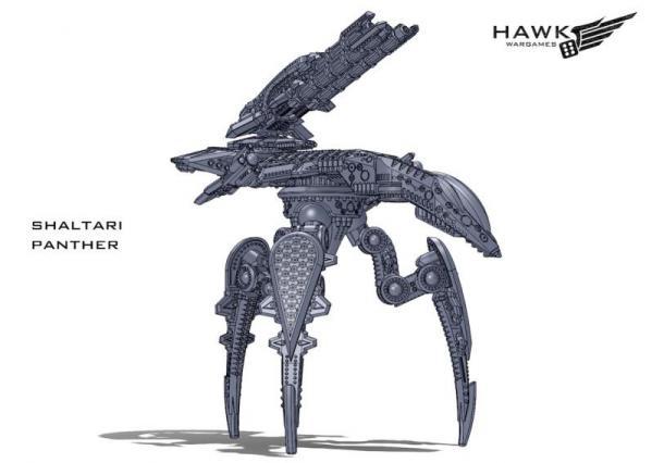 Dropzone Commander: (Shaltari Tribes) Panther (Ocelot variant)