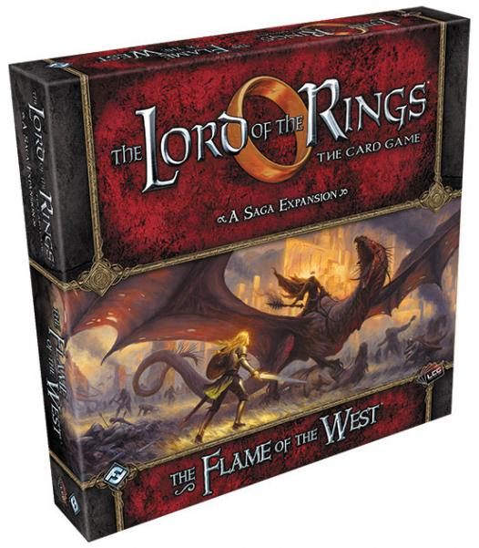 Lord of the Rings LCG: The Flame of the West Expansion