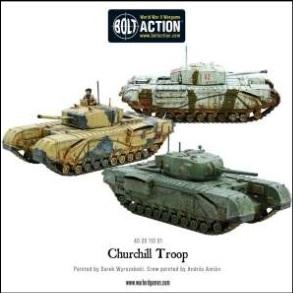 Bolt Action: (British) Churchill Troop