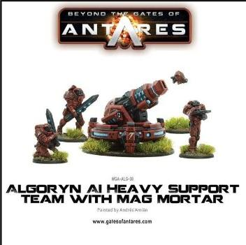 Beyond The Gates Of Antares: (Algoryn) Mag Mortar