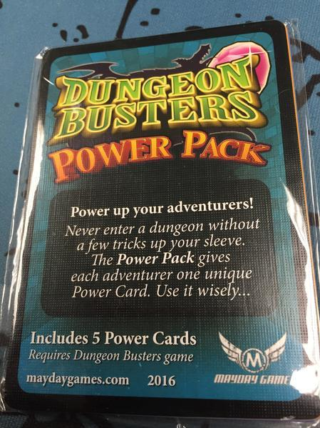 Dungeon Busters: Power Pack (Promo Cards)
