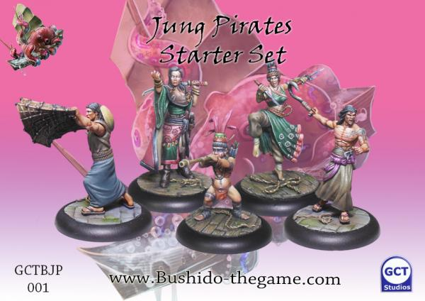 Bushido Miniatures: (Jung Pirates) Starter Set