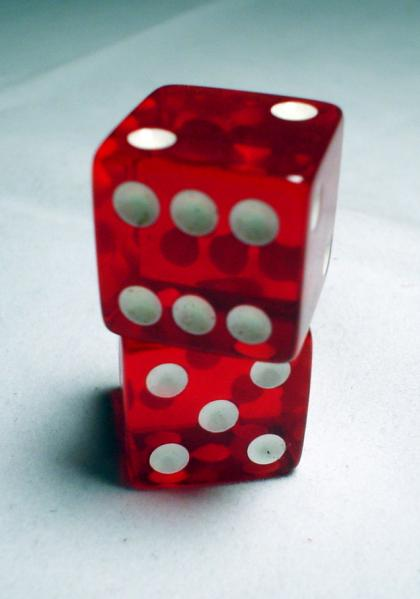 Cheater Dice: Koplow Loaded Pair of Six-Sided Dice (2d6) [7 or 11 Everytime!]