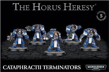 Warhammer 40K: HORUS HERESY - CATAPHRACTII TERMINATORS