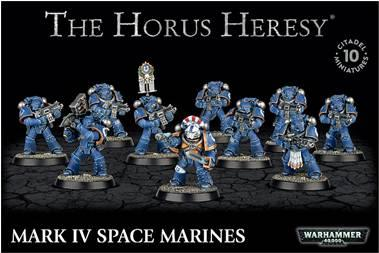 Warhammer 40K: HORUS HERESY - MARK IV SPACE MARINES