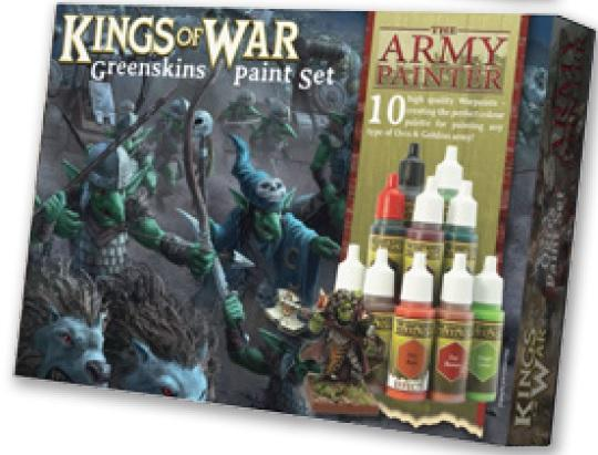 Warpaints: (Kings Of War) Greenskins Paint Set