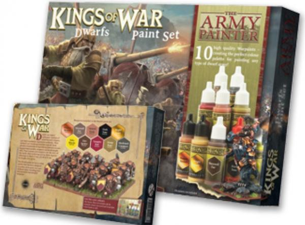 Warpaints: (Kings Of War) Dwarfs Paint Set