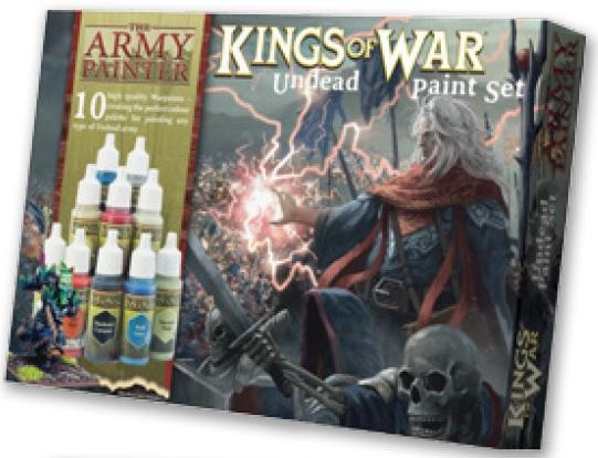 Warpaints: (Kings Of War) Undead Paint Set