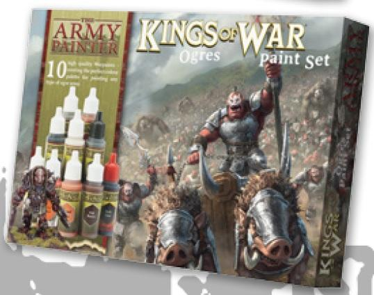 Warpaints: (Kings Of War) Ogres Paint Set