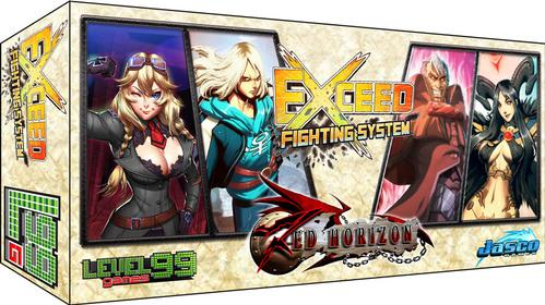 Exceed Fighting Sys: (Red Horizon) Reese & Heidi vs. Vincent & Nehtali