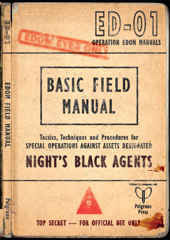 Night's Black Agents RPG: The Edom Field Manual
