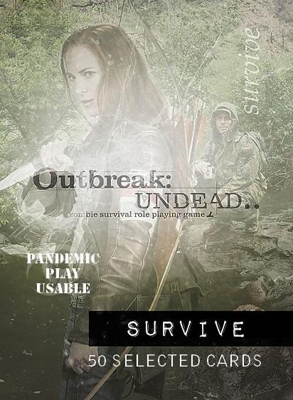 Outbreak - Undead RPG: Survive Deck