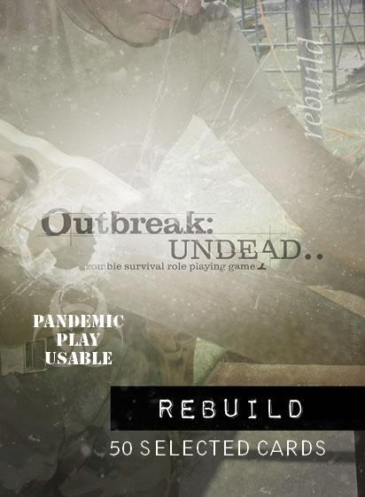 Outbreak - Undead RPG: Rebuild Deck