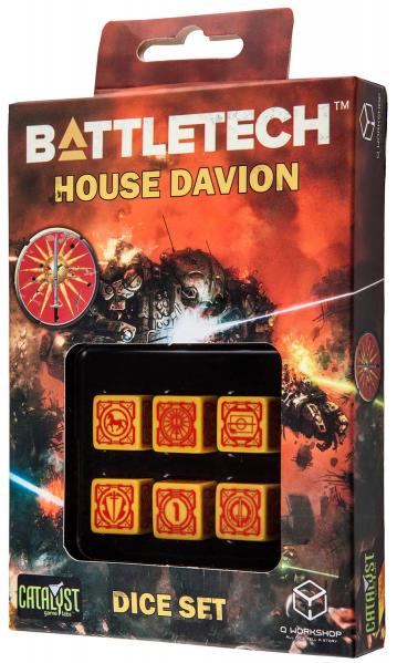 Battletech Dice: House Davion Dice Set (6)