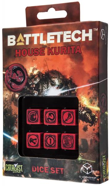 Battletech Dice: House Kurita Dice Set (6)