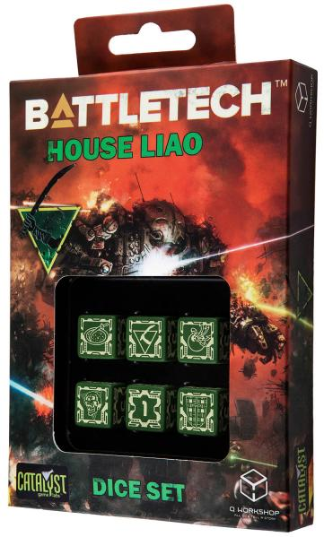 Battletech Dice: House Liao Dice Set (6)