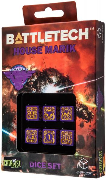 Battletech Dice: House Marik Dice Set (6)