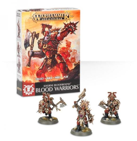 Age of Sigmar: Blood Warriors (Easy to Build)