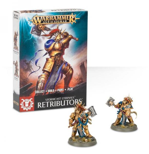 Age of Sigmar: Retributors (Easy to Build)