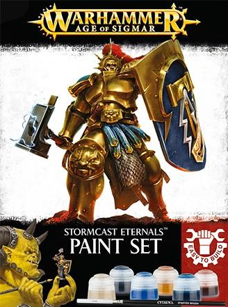Supplies And Tools: STORMCAST ETERNALS PAINT SET