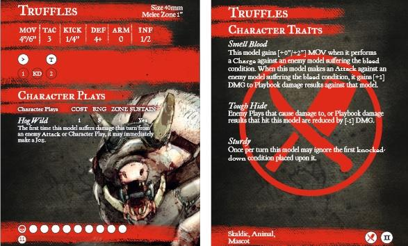 GuildBall: (Butcher's Guild) Truffles (Season 2)