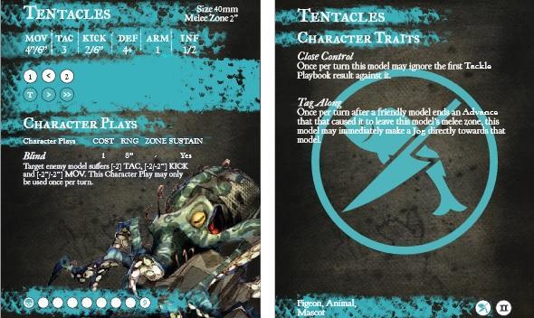 GuildBall: (Fisherman's Guild) Tentacles (Season 2)