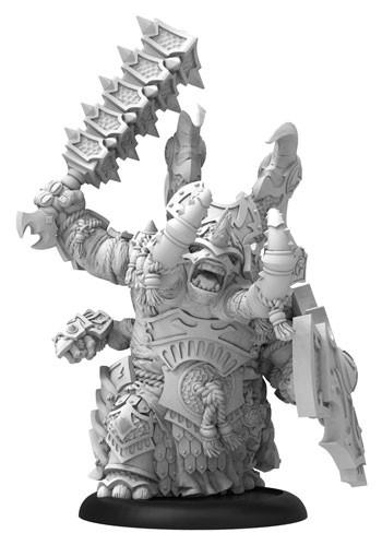 Hordes: (Skorne) Tiberion Titan Heavy Warbeast (metal/resin resculpt)