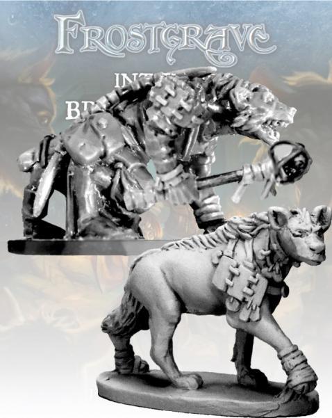 Frostgrave: Gnoll Tracker & War Hyena
