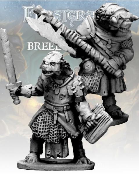 Frostgrave: Gnoll Knight & Templar