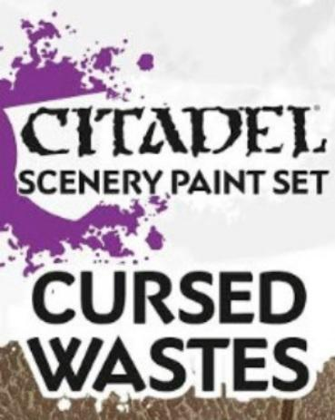 Supplies And Tools: CURSED WASTES PAINT SET