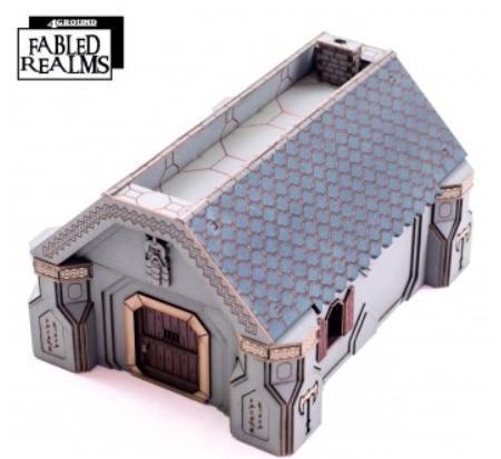 28mm Fabled Realms: Karag-Haim Offadreoz Dwelling 2